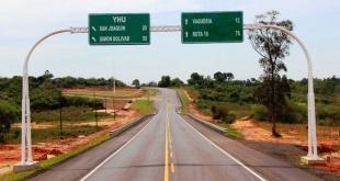 Ruta XIII, que une a las ciudades de Caaguazú, Yhú y Vaquería.