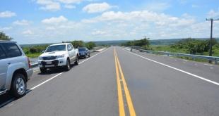 El puesto de peaje está ubicado a la altura del kilómetro 18 de la ruta. ARCHIVO.