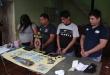 En el operativo fueron detenidos: Jorge Vázquez (con antecedentes penales), Jesús Vázquez, Jazmín Vázquez y Osmar Roble.