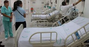 El sistema del Ministerio de Salud Pública y Bienestar Social cuenta con 300 camas para todo el país.