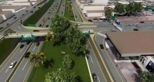 De esta manera se desplegará el viaducto en el km 7 de Ciudad del Este.