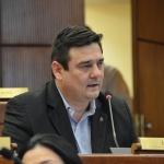 Senador Enrique Salyn Buzarquis arremete contra Arnaldo Giuzzio: