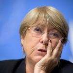 Bachelet denuncia los
