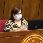 A pesar de rechazos, Abdo no cambiará a Mazzoleni y a Petta, dice senadora