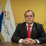 Camilo Benítez presentó su candidatura en busca de la reelección al cargo de Contralor General de la República