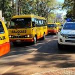 Transportistas de escolares en la lona, piden créditos blandos o subsidio