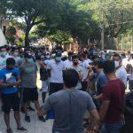 Futbolistas de Intermedia exigen a Salud habilitación para trabajar