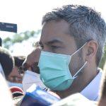 Marito se refugió en su vehículo para no responder consultas sobre Villamayor