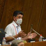 Senador Ríos planteará en su bancada negar acuerdo para Federico González como director de Itaipú