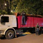 Incautación de12 toneladas de azúcar de contrabando en distrito de Aba'i, Caazapá