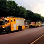 La Paloma recibe carros de bomberos donados por Taiwán