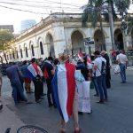 Inició la cuarta jornada de movilización contra el Gobierno