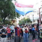 Inició segunda jornada de manifestación contra el Gobierno en el centro de Asunción