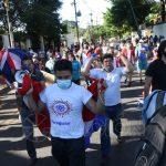 Tercer día de manifestación exigiendo renuncia de Gobierno de Mario Abdo