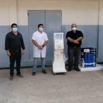 Gobierno de Ñeembucú invierte en equipamientos para Unidad de Terapia Intensiva (UTI) del IPS de Pilar