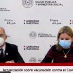 Salud espera que aumente porcentaje de vacunados al bajar la franja etaria