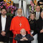 """Oscar """"Nenecho"""" Rodríguez destaca presencia del Cardenal Cristóbal López en el país"""