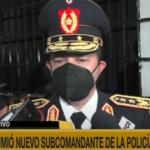 Subcomandante reconoce que la Policía tiene varios problemas para combatir la inseguridad