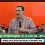 """Cartes destaca unidad de la ANR en Itapúa y pide """"teñir de rojo"""" el departamento"""