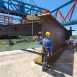 Puente de la Integración entra en fase de avance libre con el lanzamiento de la primera dovela