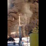 Incendio en frigorífico: Hay personas que se resisten a dejar sus viviendas